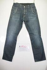 G-Star GS 3301 (Cod. F1900) Tg46 W32 L32 jeans usato Vita Alta vintage Original