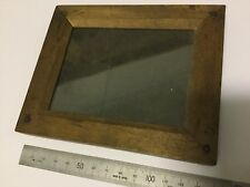 VINTAGE / ANTIQUE - TIMBER NEGATIVE PRESS / OLD PRINT FRAME- circa 1900 (aprox)