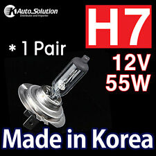 Fits FORD FALCON FESTIVA FOCUS MONDEO H7 12V 55W Halogen Headlight Bulbs Globes