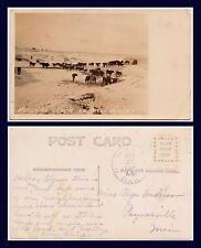 US NORTH DAKOTA HALE POSTMARK WATERING STOCK IN WINTER 1908 TO PAYNESVILLE, MINN