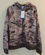 UNDER ARMOUR NWT Women/s Sz XL Camo Loose Heatgear Zipper Hooded Jacket