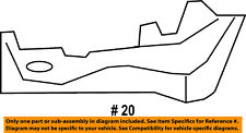 FORD OEM Fiesta Radiator Core Support-Air Baffle Duct Deflector Left D2BZ8311B