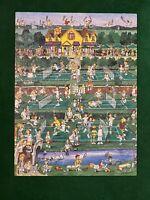 F.X. Schmid 500 Piece Jigsaw Puzzle Tennis Everyone Vintage 1994 COMPLETE