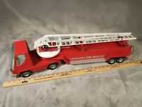 NYLINT  Fire Department Truck Hook And Ladder #33 Pressed Steel Vintage 1960's?