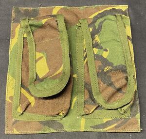 British Military Woodland DPM Webbing Empty AFV Crewman Ammo Panel Pouch
