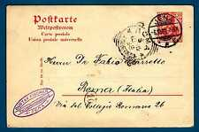 GERMANY - GERMANIA REICH - 1902 - CARTOLINA POSTALE. Destinazione Roma. R709