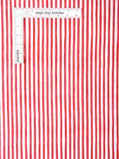Loralie Harris Fabric - Lazy Beach Gulf Stipe Striping Pink #692-120 - Yard