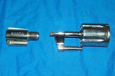 """Colt Factory Cobra 2"""" .38 Barrel & Cylinder Gun Pistol Revolver Nickel Snub Nose"""