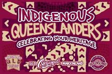 State of Origin Qld indigenous large display banner / Flag