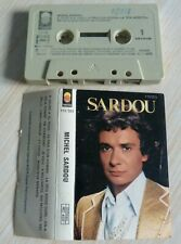 K7 CASSETTE AUDIO TAPE MICHEL SARDOU JE VOLE EN CHANTANT