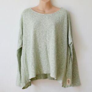 Damen Baumwolle Sommer Slouch Pullover von Post Card Brighton