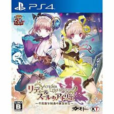 Atelier Lydie & Soeur Fushigi na Kaiga  SONY PS4 PLAYSTATION 4 JAPANESE VERSION