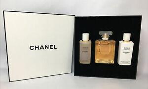 CHANEL COCO MADEMOISELLE WOMEN PERFUME EDP SPR 3.4 Body Lotion & Shower Gel Gift