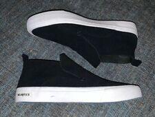Nwob SeaVees Huntington Middie Varsity Mens Size 10 Black Perforated Suede