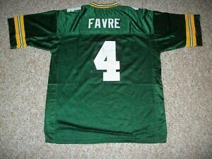 BRETT FAVRE Unsigned Custom Sewn New Football Green Bay Jersey S, M,L,XL,2XL,3XL