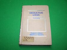 Deductive Logic. 3rd edition. Leblanc, Wisdom