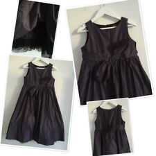 F&F Girls Party Occassion Bow Trim Dress 5-6 Years