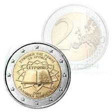 Grèce - griekenland  2 Euro Commemorative 2007 Verdrag van Rome UNC