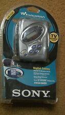 Sony Cassette Walkman WM-FX281 Stereo Radio With Case, Headphones, Weatherband