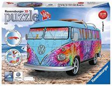 Puzzle 3d Ravensburger 12527 Furgone Volkswagen Bullo VW Bus T1 Indian Summer