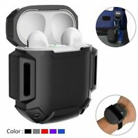 For Apple Airpods Armour Box Silicone Case Shockproof Cover Travel Kit Skin