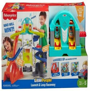 Fisher-Price Little People Launch  Loop Raceway. Amazing Christmas Gift For Kids