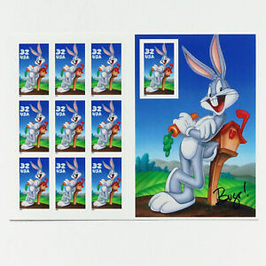 US STAMP #3137 BUGS BUNNY MINT SHEET M/NH