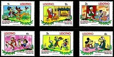DISNEY STAMPS, LESOTHO, YEAR 1983, MNH, LOT 1