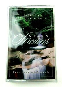 Mountain Streams (Enhanced With Music) Cassette, New & Factory Sealed