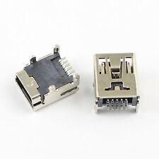 10Pcs Mini Usb Tipo B Hembra de 5 pines SMD SMT Conector Socket de placa de circuito impreso Hazlo tú mismo