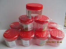 50 bocaux 230 ml rouge pots de confiture chute verres conditionné Einkochglas