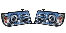 Mercedes Benz E Class W124 European Headlight Pair with Turn Signals 1982-1993