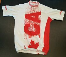 K Swiss Cycling Jersey Women's Size Small Canada Marathon Ironman