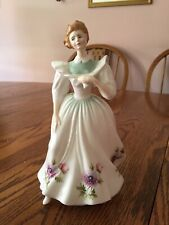 "Royal Doulton ""March"" Figure Of The Month ~ 8"" Tall"