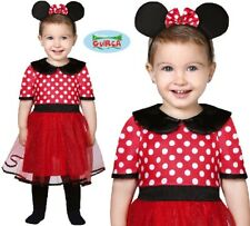 Baby & Toddler Mouse Girl Fancy Dress Costume Babies Childs Minnie Outfit New fg