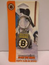 NHL Hockey Boston Bruins Keychain Key Ring (E13S)