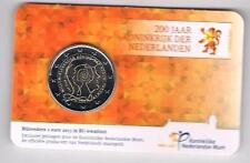 2 EURO COINCARD 200 JAAR KONINKRIJK 2013 BU