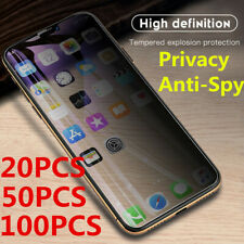 Lot Premium Privacy Anti-Spy Tempered Glass For iPhone 12 11 Pro Max X SE MAX XR