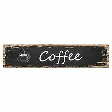 SP0024 Coffee Street Sign Bar Store Shop Pub Cafe Home Room Shabby Chic Decor