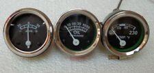 Gauge Set Temp Oil Pr Ampere Ford 2N 8N  9N NAA  600 700 800 900 2000 4000