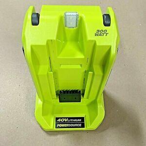 RYOBI Power Inverter Charger Outlet USB 40 Volt Battery 300-Watt (Tool Only)