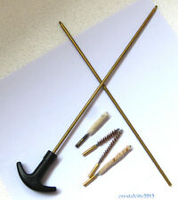 Barrel Cleaning Kit .177&.22 (4.5mm&5.5mm) Rifle/Pistol Airgun Rifle Brushes 18