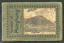 RARE Hong Kong China booklet 65 DIFFERENT views ca 1906