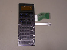 General Electric microwave black control overlay/touch pad WB27X10761 new