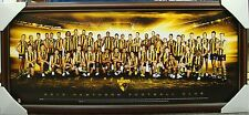 2013 HAWTHORN HAWKS AFL TEAM PRINT POSTER FRAMED - HODGE, MITCHELL 2013 PREMIERS