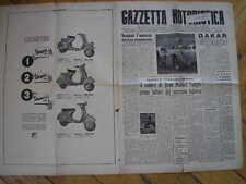 GAZZETTA MOTORISTICA #2 1955 FANGIO TEMPORADA ARGENTINA VESPA PIAGGIO 125 150GS