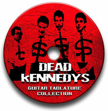 DEAD KENNEDYS PUNK ROCK GUITAR TAB TABLATURE SONG BOOK SOFTWARE CD
