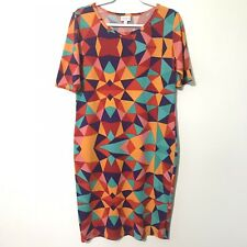 Lularoe | Julia Geometric Pattern Dress Size Large