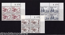 Greenland - 1984 Millenarty (4th Issue) - U/M - Numbered CORNER BLOCKS of FOUR