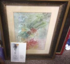 Listed Chinese Artist PANG TSENG-YING, Original Signed Gouache & Watercolor